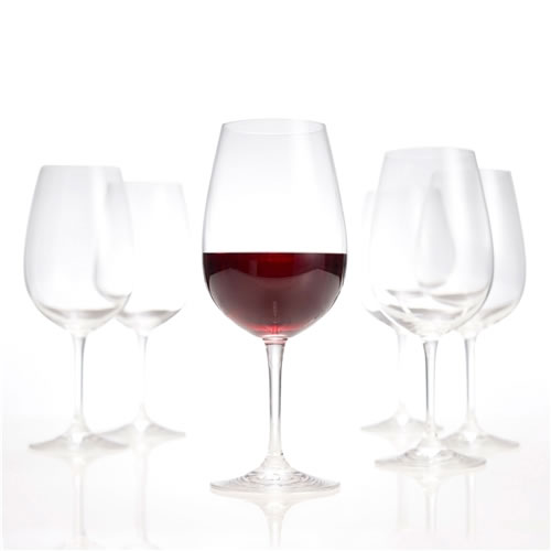 SALUT Red Wine Glasses Set