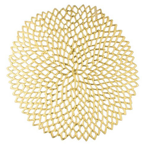 Dahlia Placemat in Gold