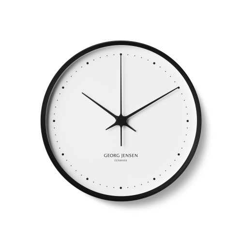 HENNING KOPPEL Clock Black & White 30cm