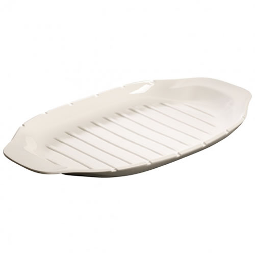 BBQ Passion Serving Plate with Skewer Holders 42cm
