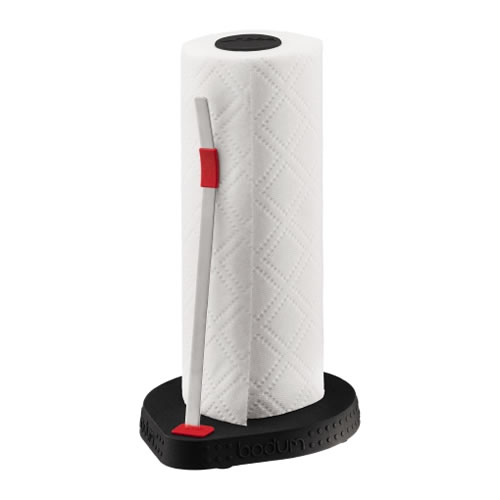 BISTRO Paper Roll Holder in Black