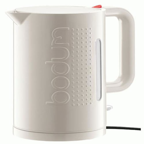 e-Bodum Bistro 1L Electric Kettle in Off White