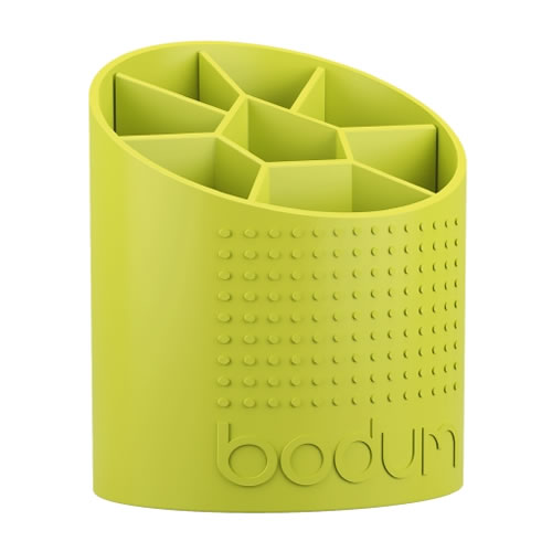 Bistro Utensil Holder in Lime