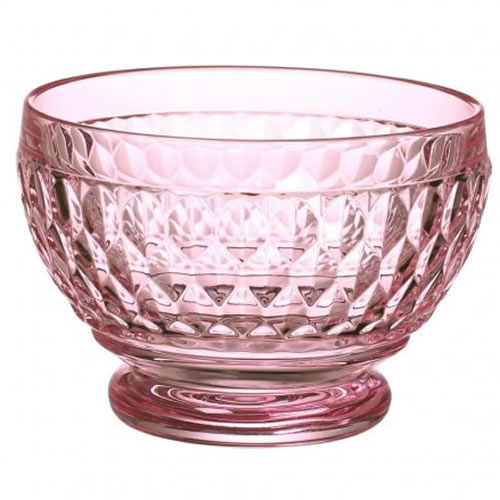 Boston Coloured Individual Bowl Rose Set