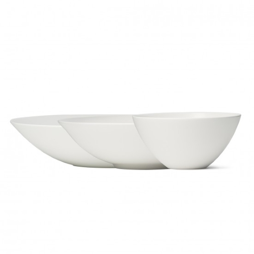 Vera Perfect White Bowls Set of 3