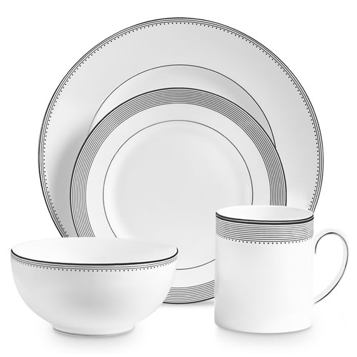 Vera Wang Wedgwood Grosgrain 4 Piece Place Setting