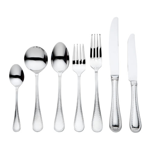 Vera Wang Grosgrain 56 Piece Cutlery Set in Stainless Steel