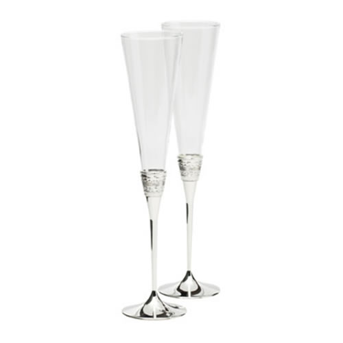 Vera Wang With Love Crystal Toasting Flutes