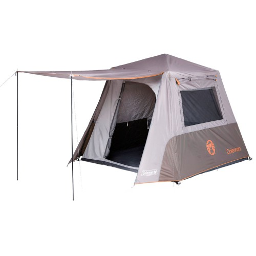 Four Person Instant Up Tent Grey