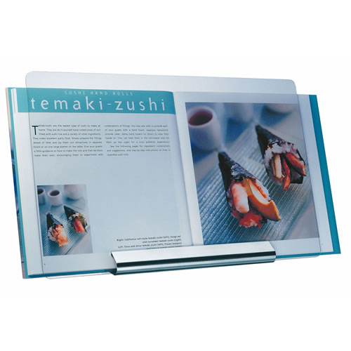 Deluxe Satin Recipe Book Holder with Perspex Cover