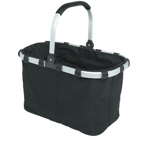 Enviro 23L Collapsable Carry Basket in Black