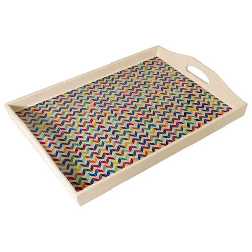 Chevron Tray in Large