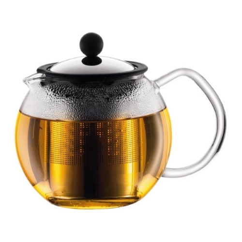 ASSAM Teapot with Stainless Steel Filter 4 Cup