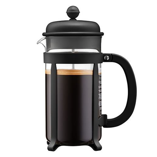 Java Black 1 L Coffee Maker