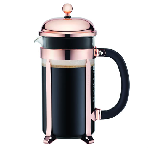 Copper Chambord Coffee Maker 3 Cup .35L