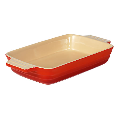 Federation Red Large Rectangular Baking Dish 32cm
