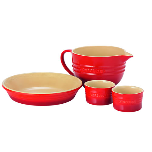 4 Piece Starter Set Red