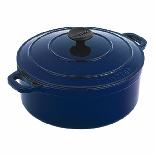 French Blue Round French Oven 26cm 5.3Ltr