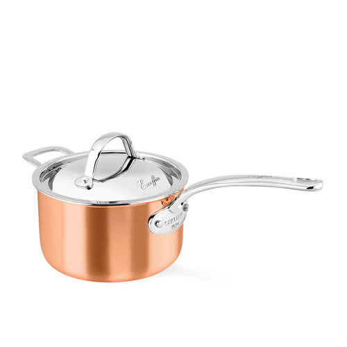 Escoffier 20cm 3L Saucepan with Helper Handle