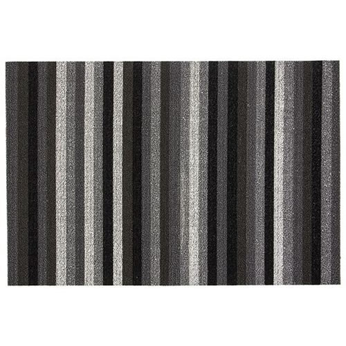 Utility Mat in Even Stripe in Mineral 61x91cm