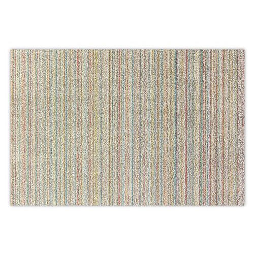 Utility Mat in Skinny Stripe Soft Multi 61x91cm