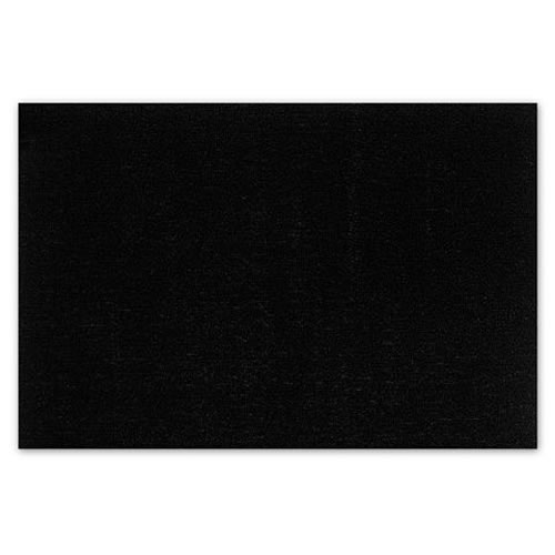 Utility Mat in Solid Black 61x91cm