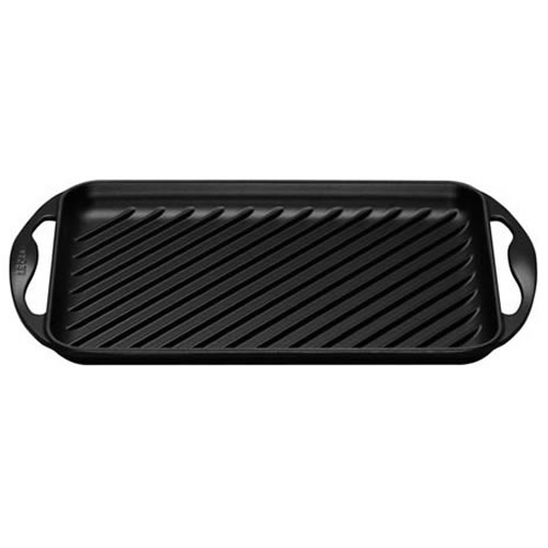 Satin Black Rectangular Grill 32.5x22