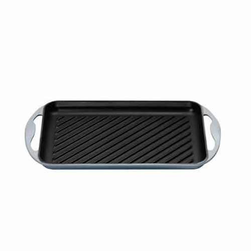 Coastal Blue Rectangular Grill 32.5x22