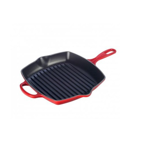 Cerise Signature Square Grillit 26cm and receive a FREE CAST IRON PANINI PRESS to the value of $210