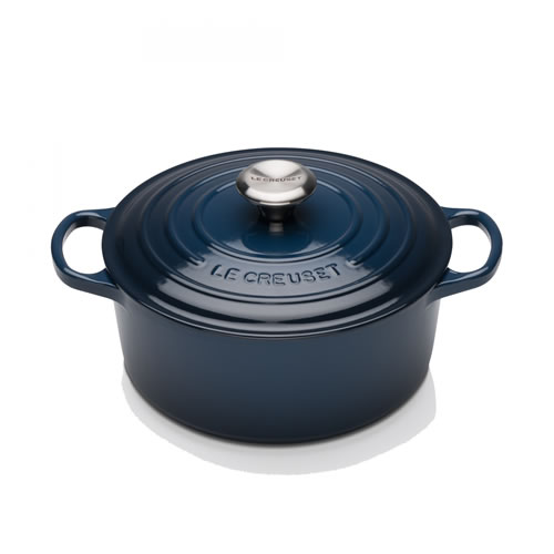 Ink Signature Round Casserole 24cm with SS Knob