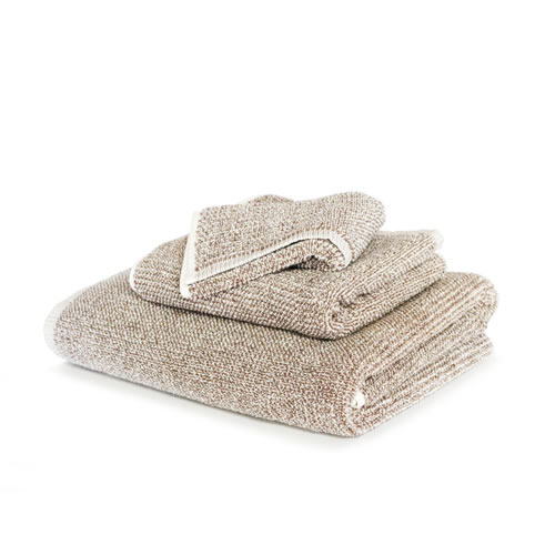 Beige Tweed Bath Towel