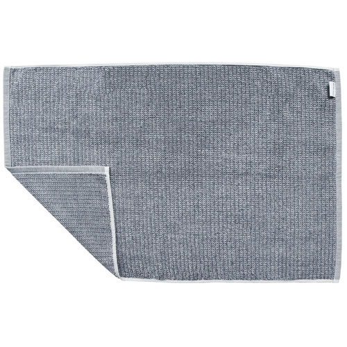 Grey Tweed Bath Mat