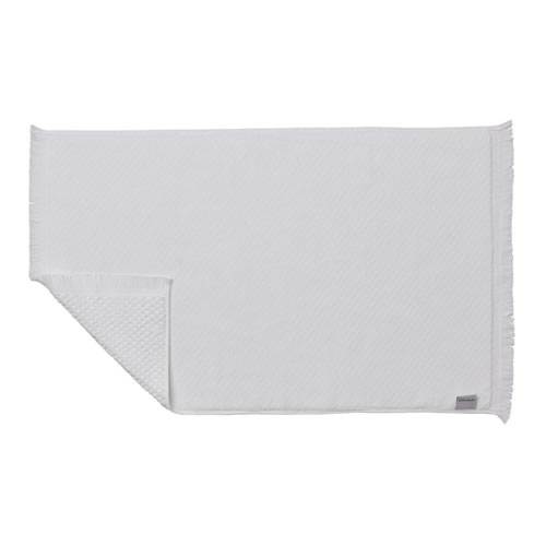 Glacier Bath Mat White
