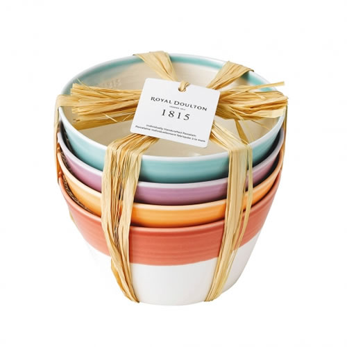 1815 Brights Cereal Bowl Set