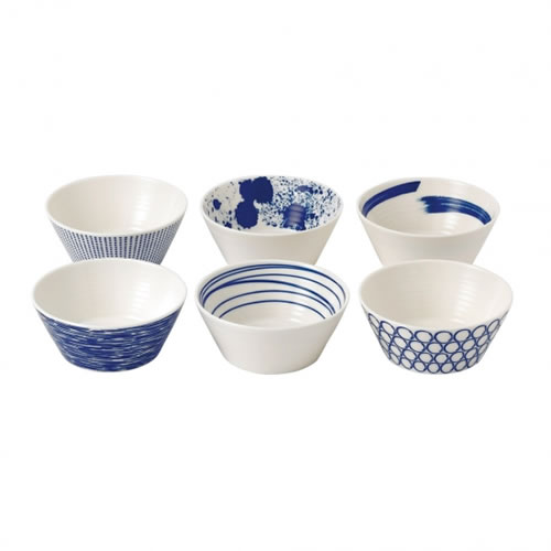 Pacific Set of 6 Bowls 11cm