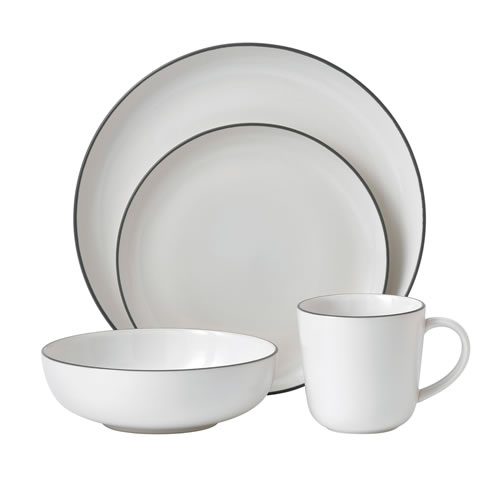 Bread Street White 16 Piece Set
