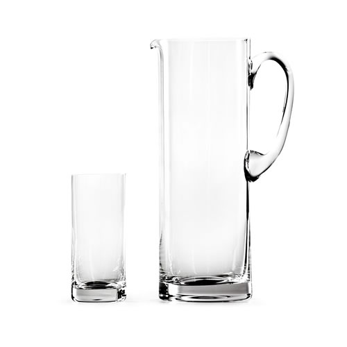 Royal Doulton Glass Sets Straight Jug Set and Highball Set