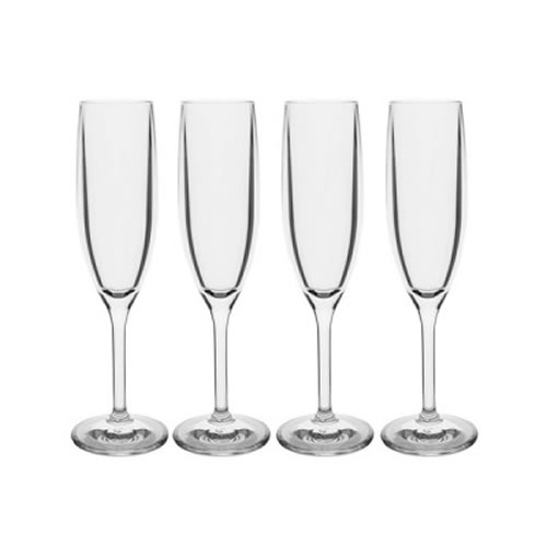 Champagne Polycarbonate Glass