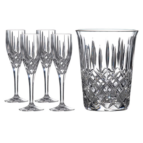 Royal Doulton Crystal Champagne Set