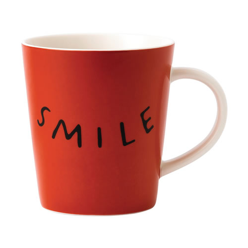 Smile Mug ED Ellen DeGeneres Crafted by Royal Doulton