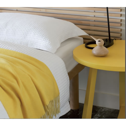 River King Duvet White Cover Set