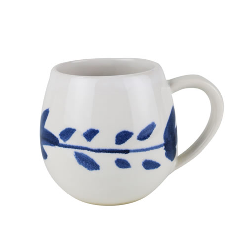 Indigo Wreath Mug