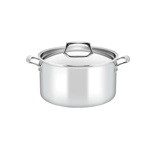 Essteele Per Sempre 26cm 7.6L Covered Stockpot