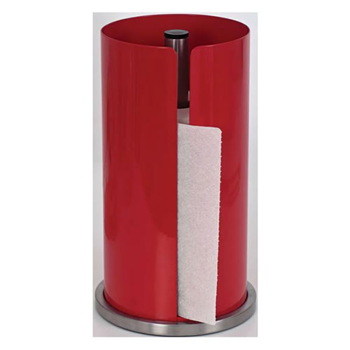 Soho Paper Towel Holder in Red