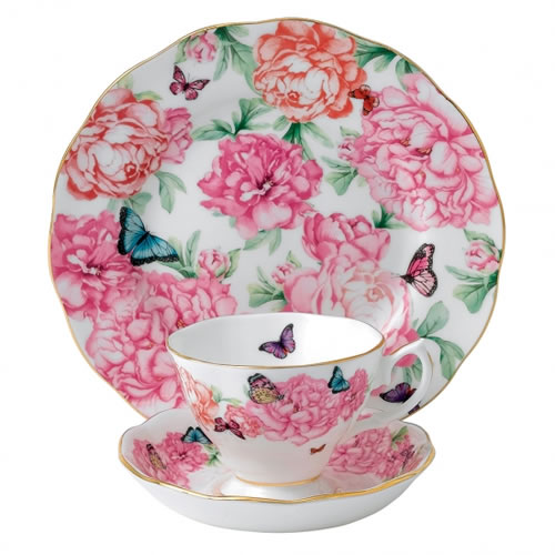 Miranda Kerr for Royal Albert Gratitude Teacup, Saucer, Plate 20cm