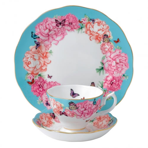 Miranda Kerr for Royal Albert Devotion Teacup, Saucer, Plate 20cm