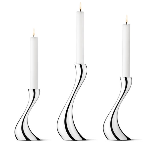 COBRA Candleholder Pack of Three