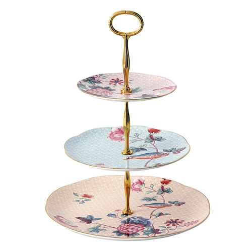 Cuckoo Sandwich 3 Tiered Cake Stand