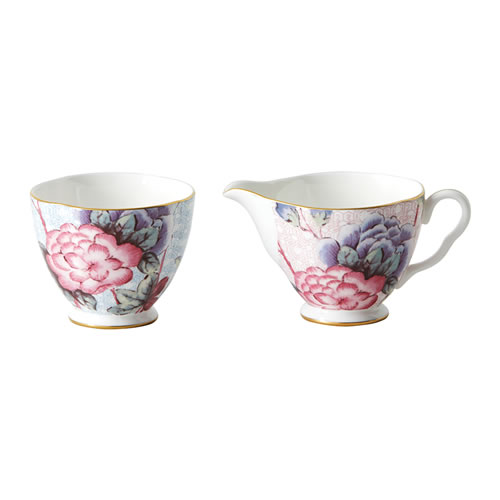 Wedgwood Cuckoo Large Sugar & Creamer Set