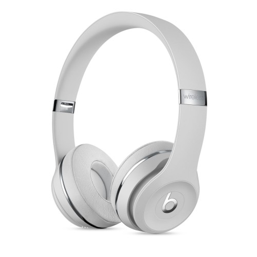 Beats Solo3 Wireless On Ear Headphones Satin Silver